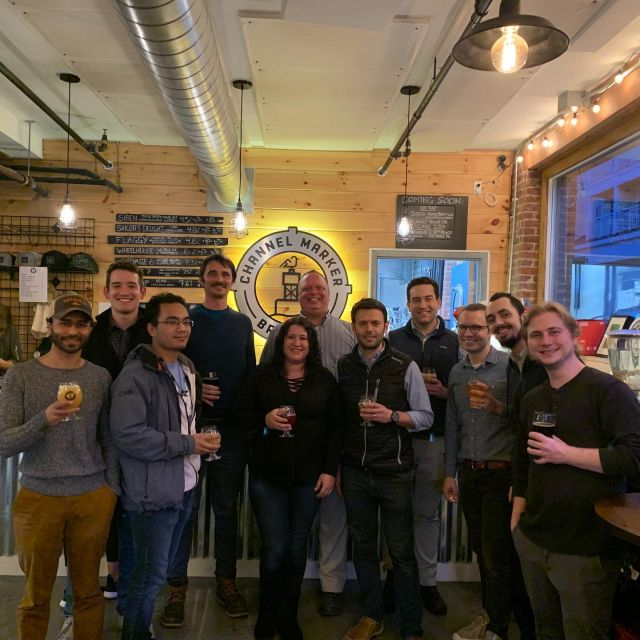 Hey everyone, in honor of #tbt we wanted to share a few pictures from our team trip down the #beverlybeermile! We had a blast visiting (and trying a few beers) @gentilebrewing, @channelmarkerbrewing, and @oldplantersbrewing. Also, a big thanks to our friends @chiveevents and @changeissimple for hosting us along the way!
